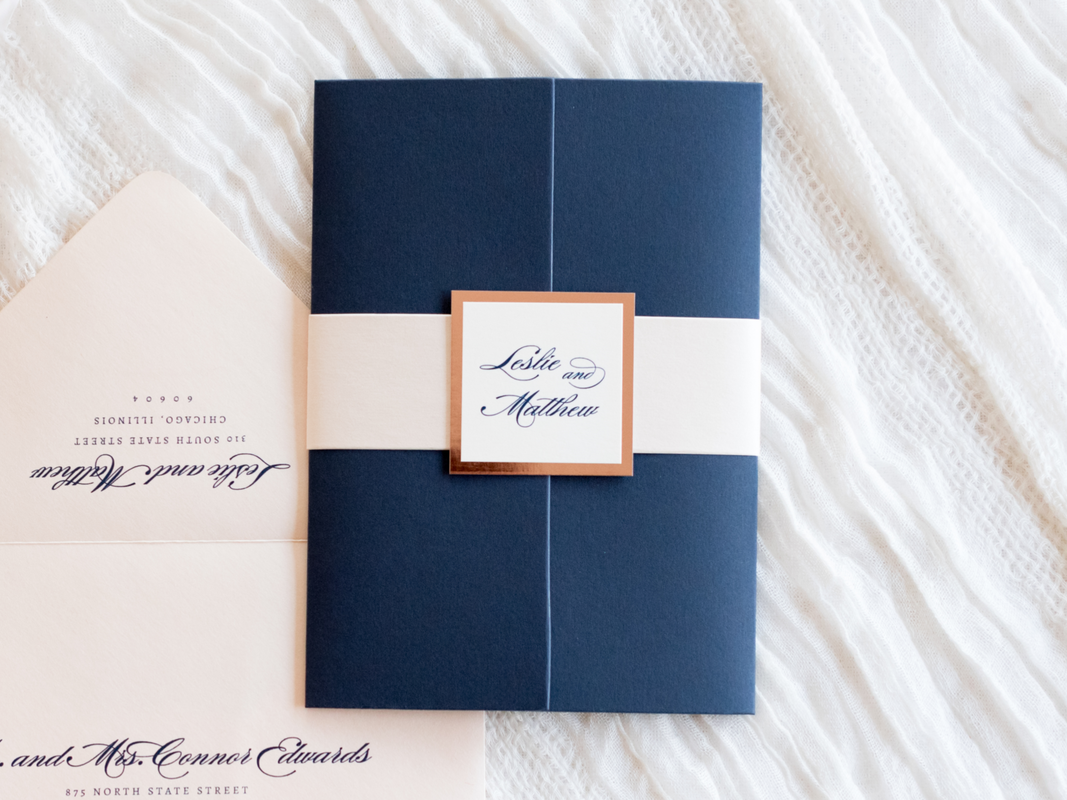 elegant-formal-wedding-invitation-in-navy-blue-blush-shimmer-rose-gold-foil-and-ivory-with-gatefold-and-belly-band_1