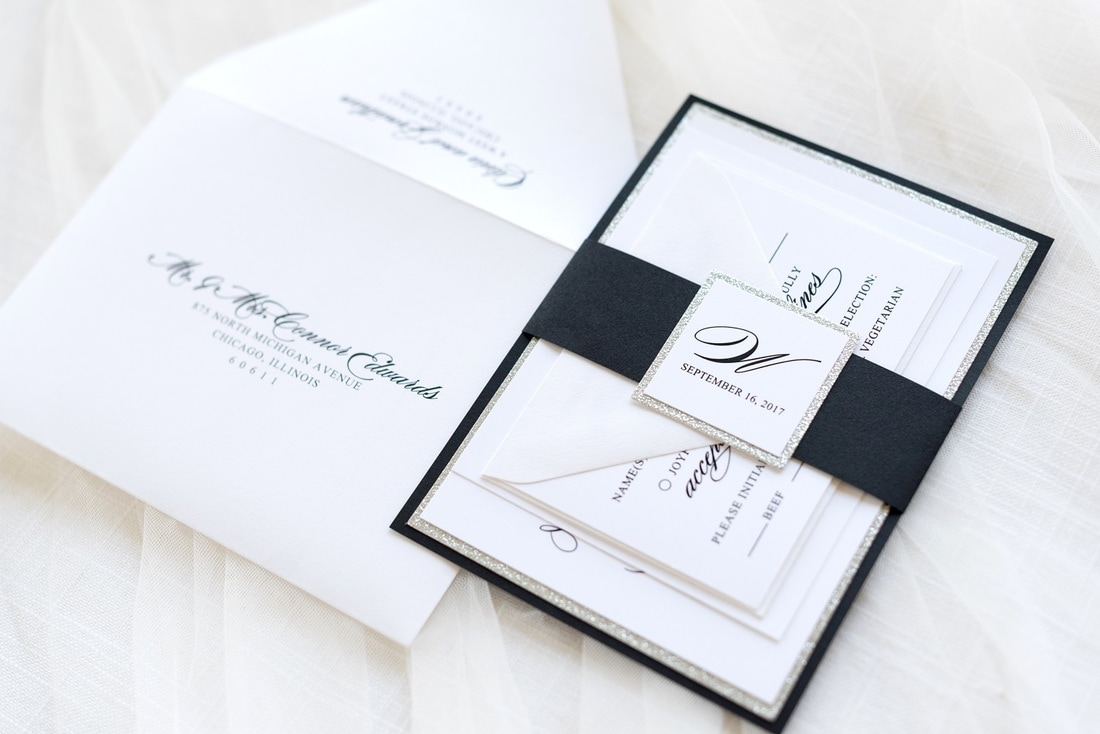 White And Silver Weding Invitations 02 - White And Silver Weding Invitations