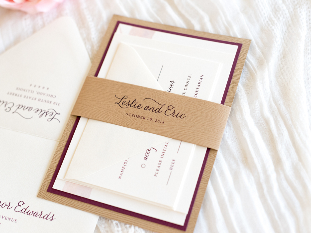 wood-grain-wedding-invitation-layered-with-ivory-and-burgundy-rustic-barn-wood-country-garden-wedding_1